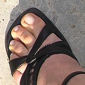 Фото толстых пальцев на женских ножках